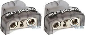 Rockford Fosgate RFDB1 Positive//Negative Car Battery Terminal w// Platinum Finish
