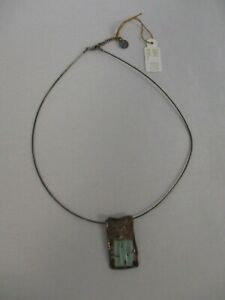 Roman Glass Pendent with sterling silver chain
