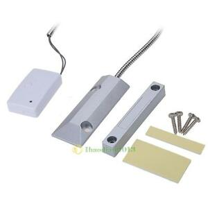 New Home Security Alarm Wireless Metal Rolling Shutter