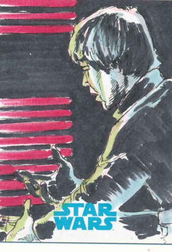 Star Wars Journey to the Force Awakens Sketch Card Dan Gorman
