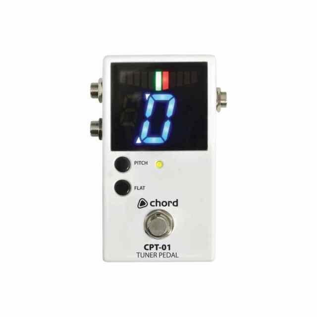 Chord Cpt-01 Chromatic Guitar Tuner Pedal | eBay
