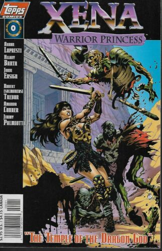 Xena Warrior Princess No.0 1997 Aaron Lopresti