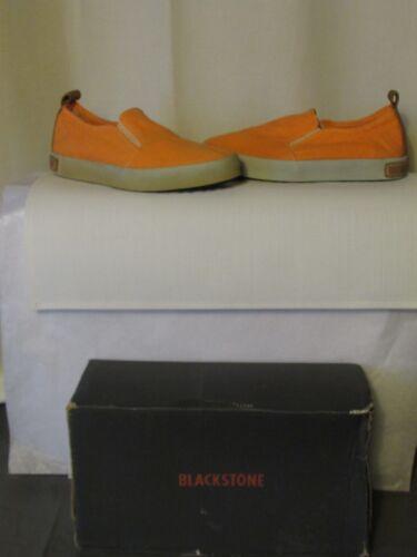 talla naranja cuero lona Zapatos 36 y camel albaricoque de Blackstone qHZcBpSg8
