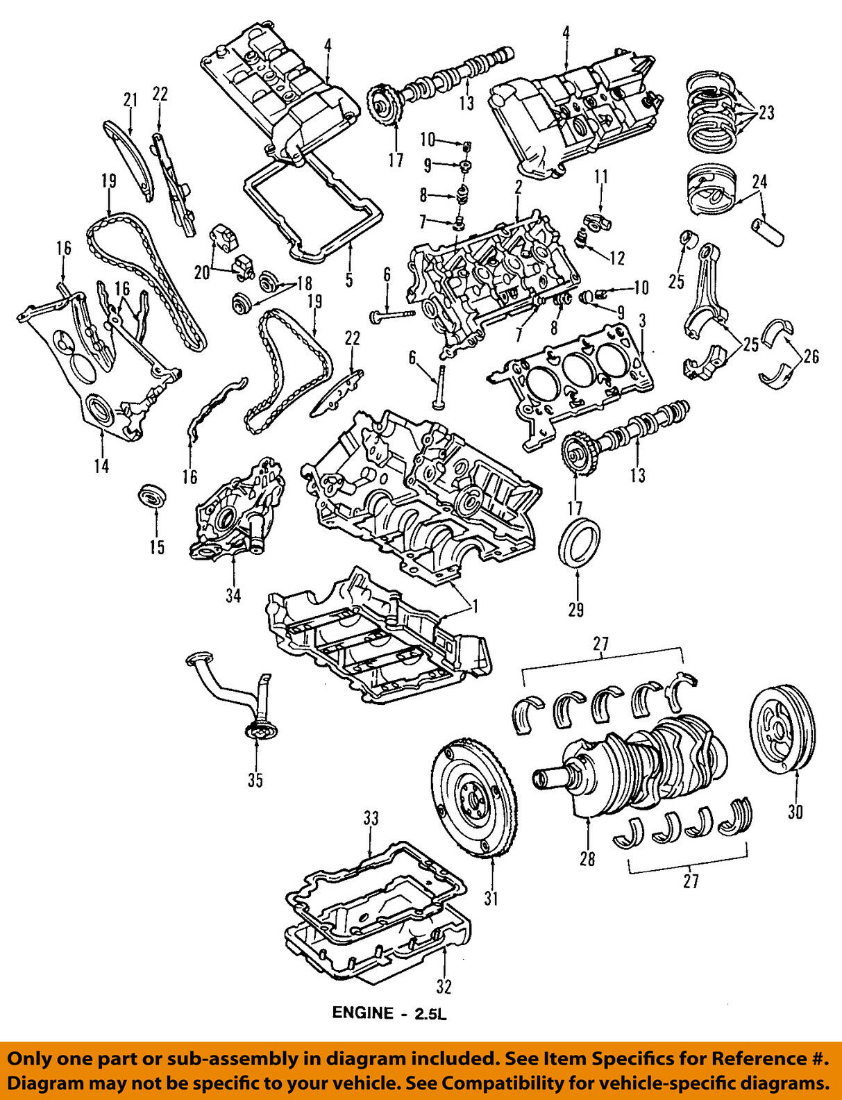 Engine Timing Chain Ford Oem F5rz6268b Ebay Honda Accord Belt Diagram Further 1996 V6 Norton Secured Powered By Verisign