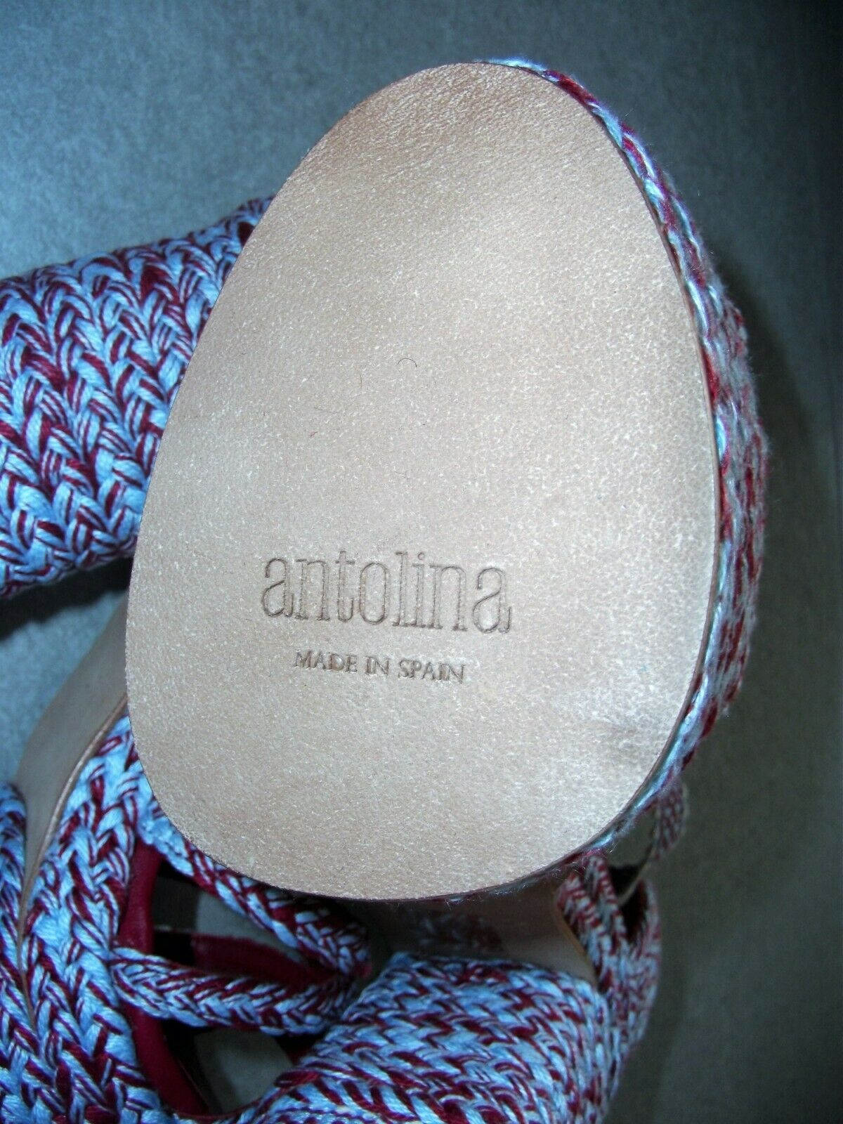 Antolina Maya.025 red Paris Paris Paris Designerschuh 54c1b6