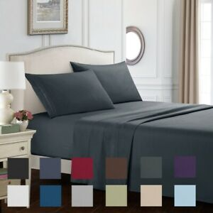 Egyptian-Comfort-3-4-Piece-1800-Count-Deep-Pocket-Twin-Queen-King-Bed-Sheet-Set