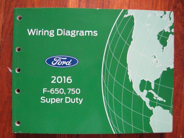 2016 Ford F 650 750 Super Duty Electrical Wiring Diagram