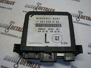 Mercedes-C-class-W203-Door-Control-module-A2038202185-used-2002