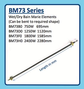 WET//DRY BAIN MARIE ELEMENT BM73 BM73F0 1800W 1585mm