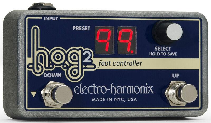 Electro-Harmonix HOG 2 Harmonic Octave Generator / SyntheGrößer Foot Controller