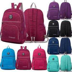 Women Ladies Travel Backpack Girls School Rucksack Holiday ...