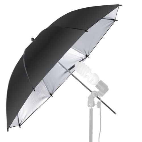 Neewer 33 inch Black//Silver Photography Studio Reflective Lighting Umbrella