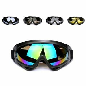 Safety Goggles Eye Protective Over Glasses Concealer Clear Anti-Fog Dust Prove