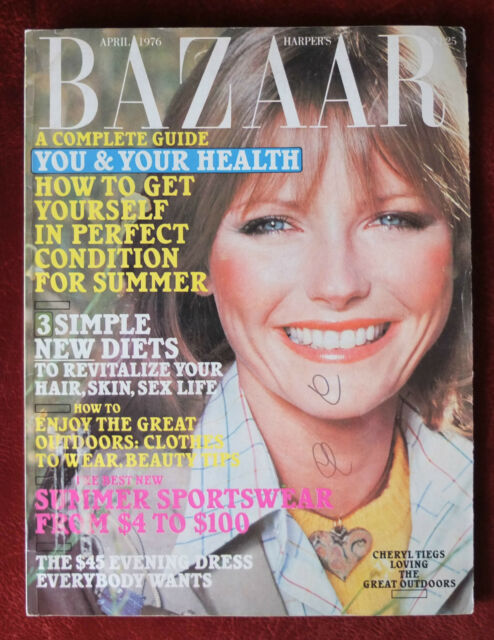 Harper's Bazaar ~ April 1976 ~ Cheryl Tiegs by Rico Puhlmann Bill King