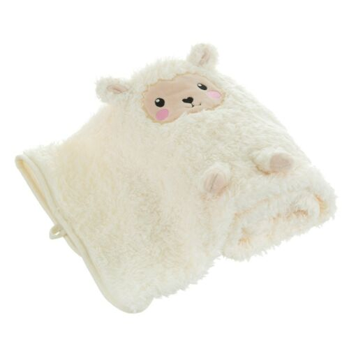 Sass /& Belle Little llama Manta Polar Suave Crema Guardería Niño Niños Habitación