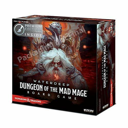 Tienda de moda y compras online. Dungeons & Dragons  aguas  Dungeon de la la la Mad Mage Premium Edition  barato y de alta calidad