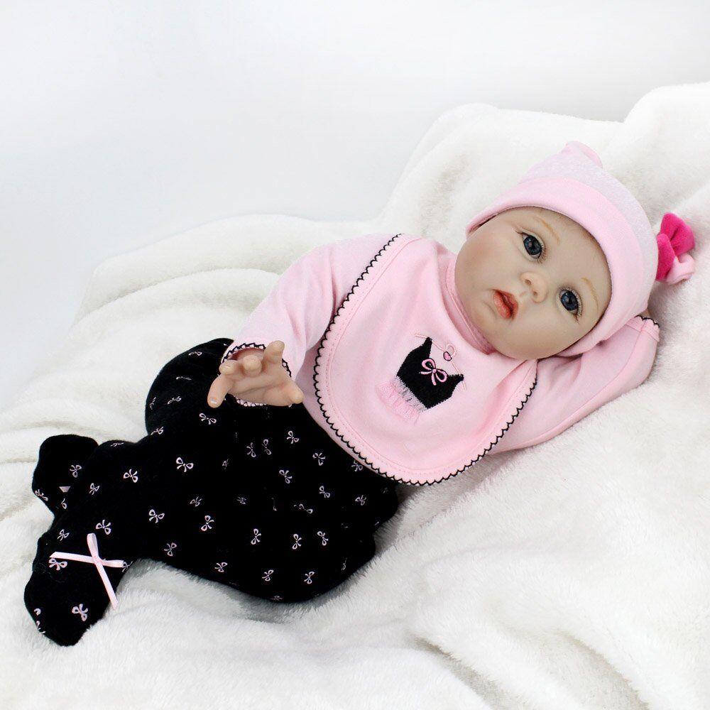 Graziose Bambole Reborn Reborn Reborn UK artista Collectables VINILE neonato bambina Play House giocattoli ae2c25