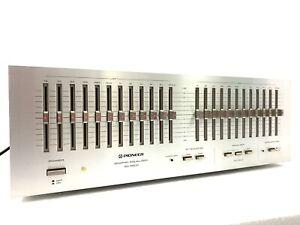 PIONEER-SG-9800-Vintage-1979-Graphic-Equaliser-Blue-Series-100-Working-Like-New
