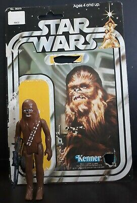 Star Wars Gold Chewbacca 5 inch figure LOOSE