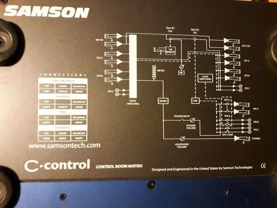 monitor controller, Samson C control