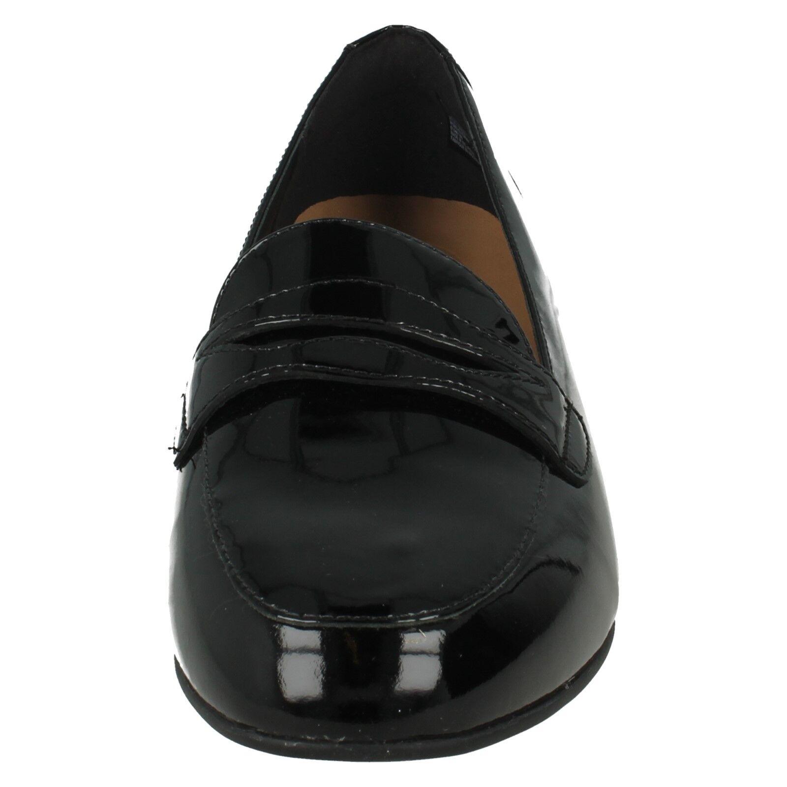 UN LADIES BLUSH GO UNSTRUCTUROT CLARKS LADIES UN SLIP ON LOAFERS PATENT Schuhe SMART PUMPS 5de1d8