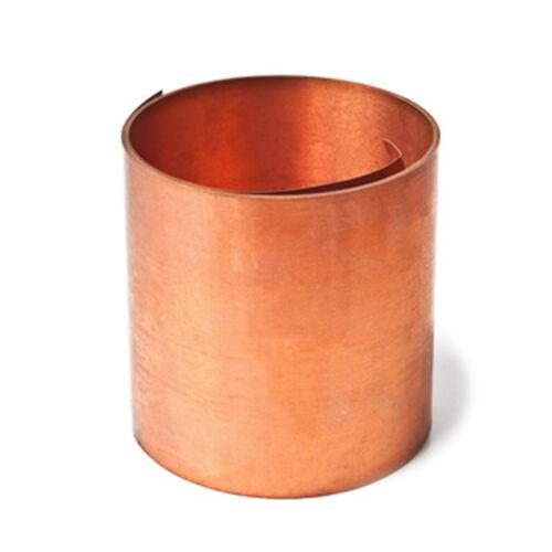 Feuille Flexible cuivre 0,3 mm enroulés cuivre découpées à format