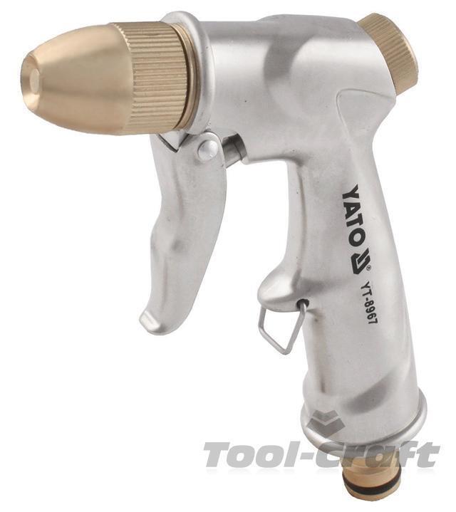 Yato garden watering multi function brass spray gun 1/2
