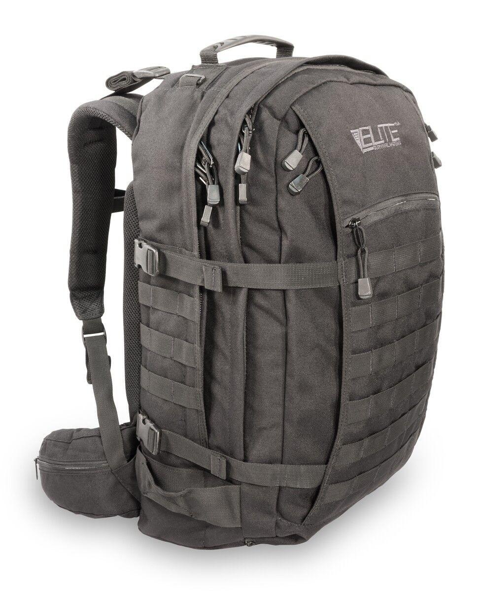 Elite Survival Systems Mission Mission Mission Pack Zaino di 3 giorniNero 6bf
