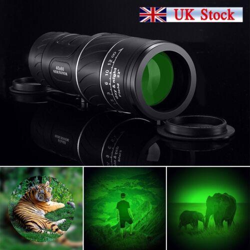 UK Professional Hunting Monocular Binoculars Optical Telescope Handheld Scope