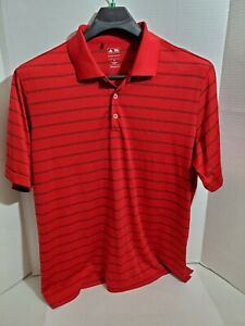 Adidas Pure Motion Mens XL Golf Polo Casual Short Sleeve Pullover Shirt