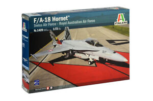 Italeri-1429-Mcdonnell-Douglas-F-18-Hornet-Swiss-Air-Force-and-Raaf-1-72