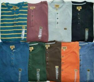 Men-039-s-Foundry-Big-amp-Tall-Long-Sleeve-Henley-Thermal-Shirt
