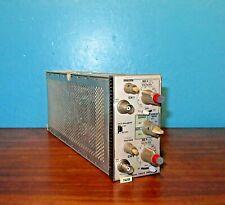 Tektronix Model 7a18 Dual Trace Amplifier Plug In Module Free Shipping