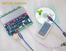 4 Axis TB6560 USB CNC Nema23 3.0A Stepper Motor USB Driver + Remote Controller