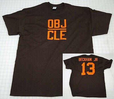 Odell Beckham Jr Cleveland Browns Jersey Style T Shirt Obj Cle Color Rush Baker Ebay