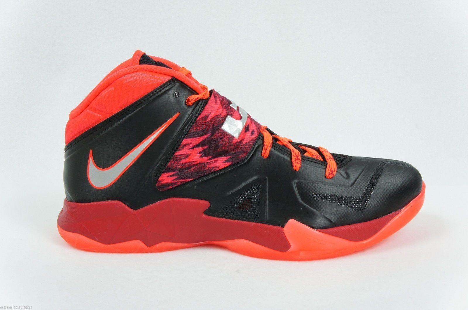 Nike Zoom Soldier VII pp 7 LeBron 609679-005 James zapatos de baloncesto 609679-005 LeBron hombre sz 12 c5b8ba