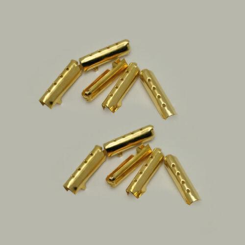 50pcs Color Metal Aglets DIY Shoelaces Repair Shoe Lace Tips Replacement End