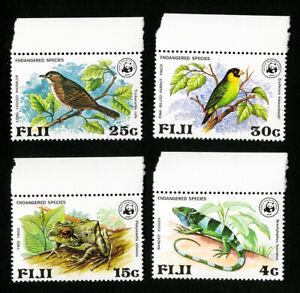 Fiji-Stamps-397-400-VF-OG-NH-WWF