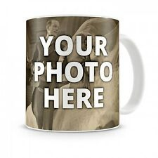 Coffee 11oz mug cup custom photo text logo personalized gift new ceramic new