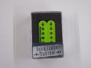 seymour duncan black winter 6 string bridge humbucker neon green rh ebay com