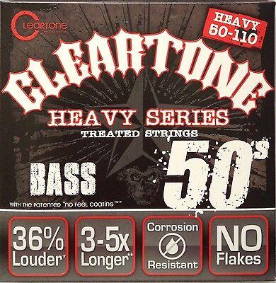 Cleartone Monster 6550 Nickel Plated Steel Bass Guitar Strings 50-110