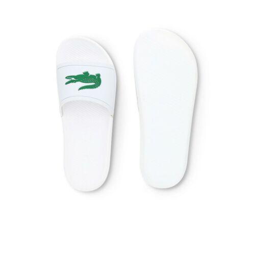Lacoste Croco Slide 37CMA0018082 White UK 6-11