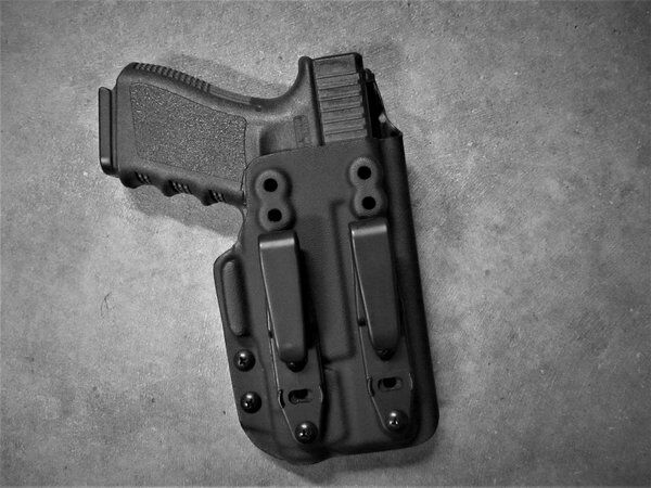 AIWB apéndice Funda, Glock Con Luz. TLR-1, TLR-7, APLc, X300 Ultra
