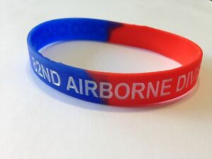 Silicon-Wristband-Chicago-Chapter-82nd-Airborne-Division-Association
