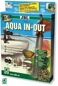 Ensemble de vidange d'eau In-Out Jbl Aqua - Changement d'eau sans remorquage de seau
