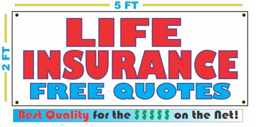 Auto Home Life LIFE INSURANCE BANNER Sign Free Quotes High Quality NEW