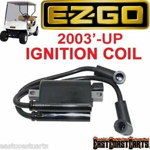 Details about EZGO Golf Cart 2003'-Newer MCI 4 Cycle IGNITION COIL 72866-G01