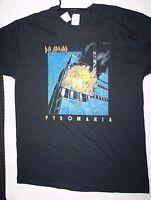 Def Leppard Pyromania Licensed T Shirt S - Xl 100% Cotton