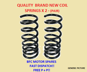 FORD FOCUS MK3 1.0 1.6 1.6 TDCI ECOBOOST FRONT SUSPENSION COIL SPRINGS PAIR