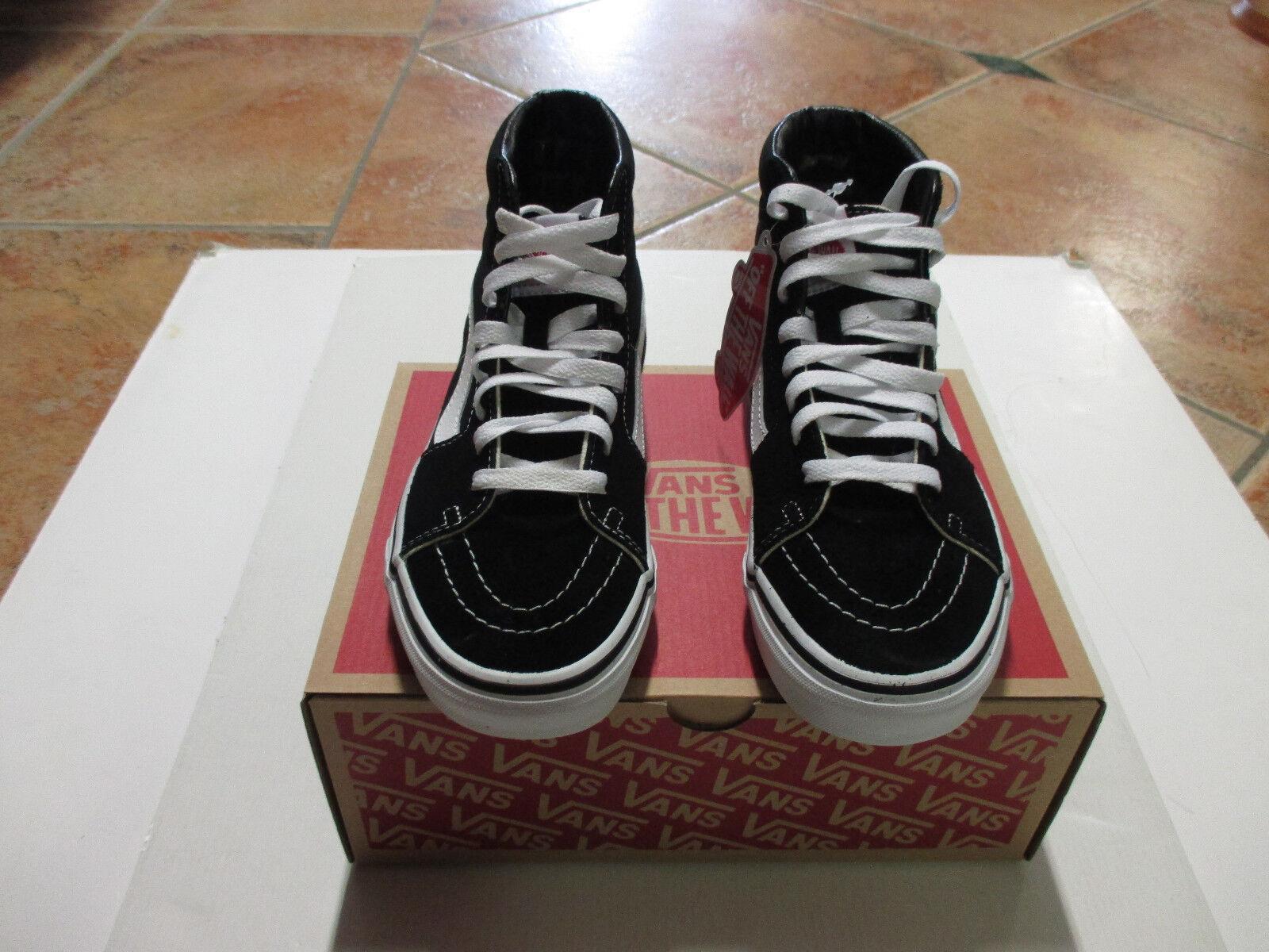 VANS SK8-HI  Farbe:  Black/Black/White  Größe: 40,5  Model: VD5IB8C NEU